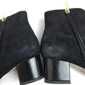 b84a89c4efddb Sam Edelman Shoes - Sam Edelman Edith Black Suede ankle boot 6.5
