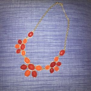 red baublebar necklace