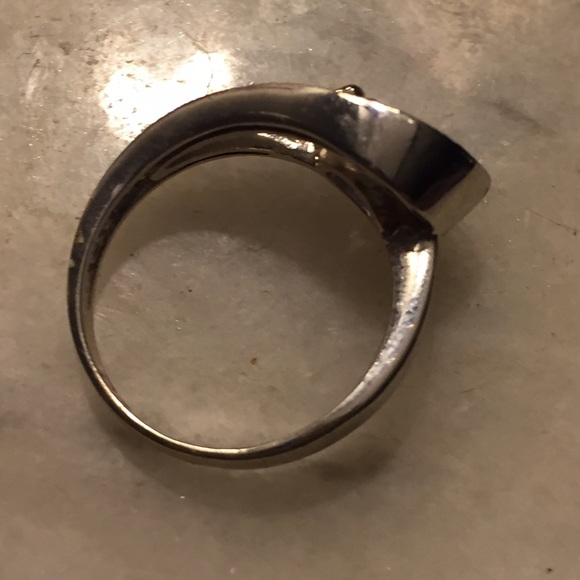 82 rsc jewelry statement ring purple silver