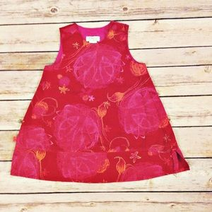Catimini Other - Catimini Girls Red Floral Dress Size 12 Months