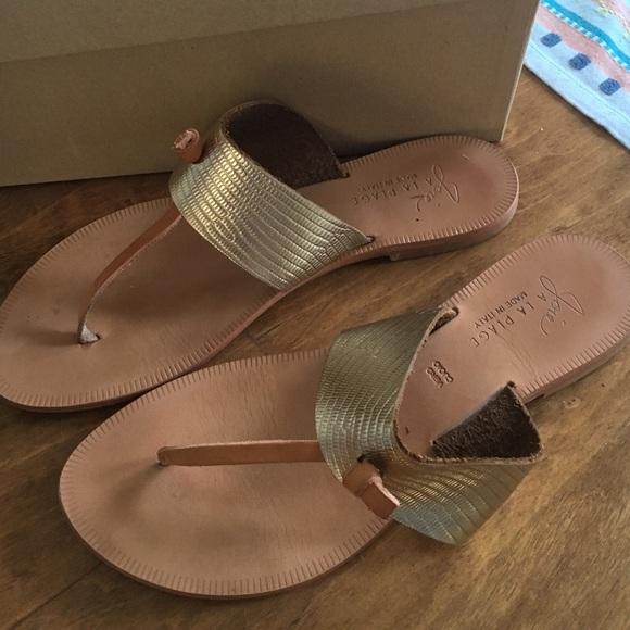 c156e7073bae62 Joie Shoes - Joie a la plage nice sandals 38.5