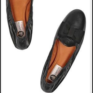 Lanvin Shoes - Lanvin grosgrain bow flat