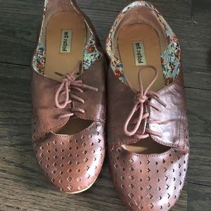 Not Rated Shoes - Brown Flats