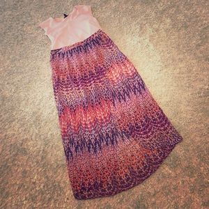 Crossover maxi skirt. Size 2