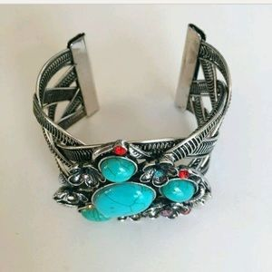 Jewelry - 💕💕😘🎉Host Pick Gorgeous Boho Turquoise Bracelet