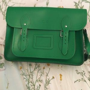 Green Cambridge Satchel