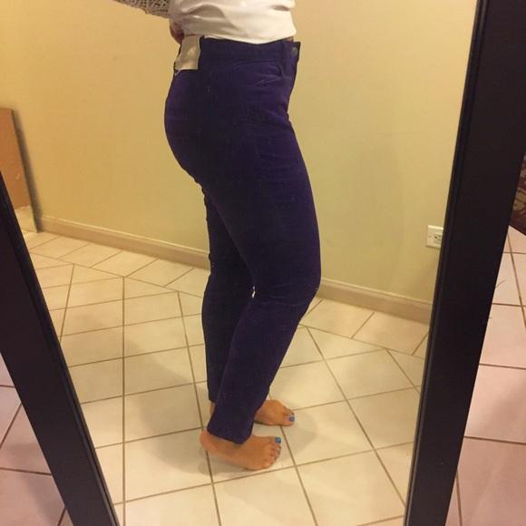 63% off LOFT Pants - Curvy Super Skinny soft corduroy pants from ...