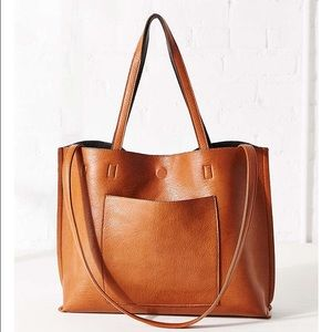 Leather Tote Bag Large
