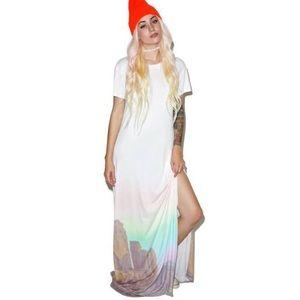 WILDFOX Couture Desert Maxi Dress