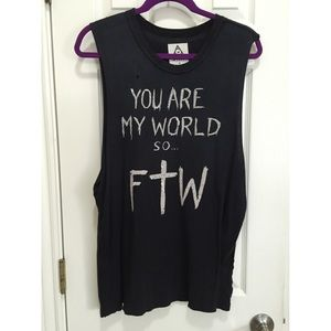 UNIF FTW muscle tee