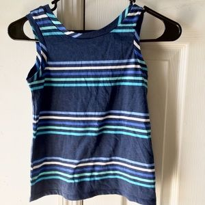 Old Navy Other - OLD NAVY Stripped Blue Crop Top