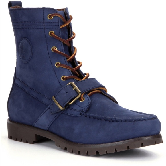 Polo Ranger Boots Blue