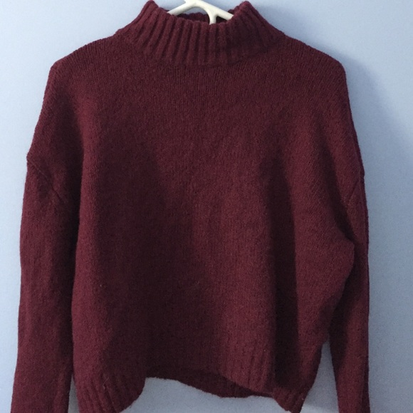 60% off American Eagle Outfitters Tops - mock turtleneck sweater ...