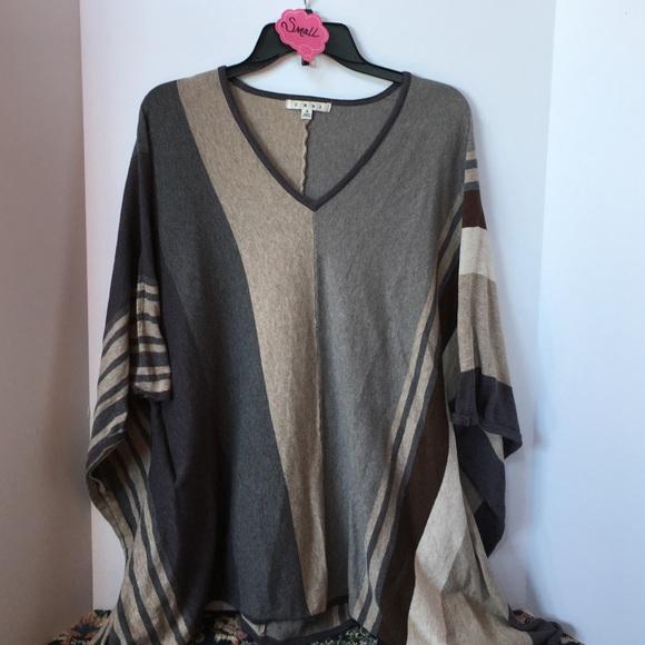 CAbi - CAbi Horizon Poncho Oversized Batwing Sweater from Mj's ...
