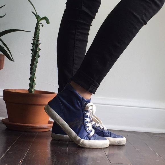 Frye Shoes   Frye Kira Blue Leather