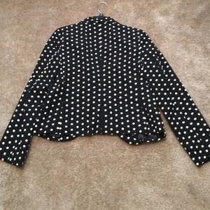 LC Lauren Conrad Jackets & Coats - Polkadot LC Lauren Conrad Blazer