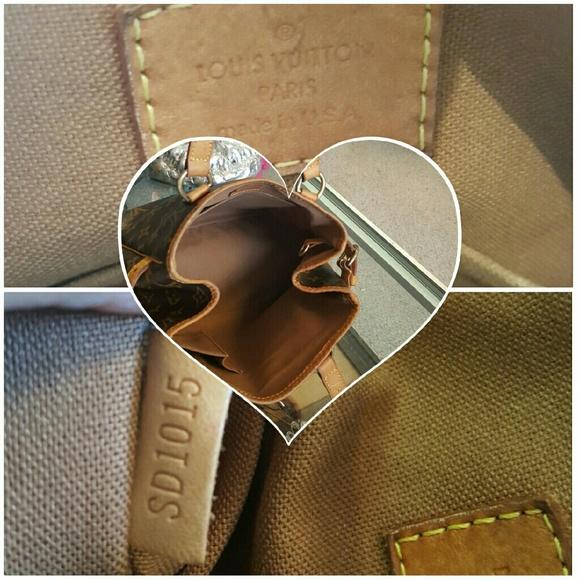 78 off louis vuitton handbags authentic tote louis. Black Bedroom Furniture Sets. Home Design Ideas