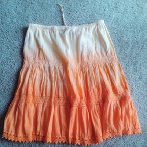 17 Sundays Dresses & Skirts - ⤵MOVING SALE⤵(M) Cute two tone skirt