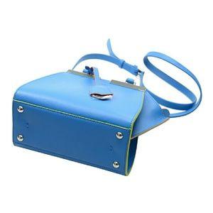 f5a3e2cfa229 Fendi Bags - NWT Fendi 3 Jours Mini Blue Leather Shopper