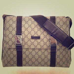 Gucci Handbags - SALE ❤️Gucci GG Plus Messenger Bag