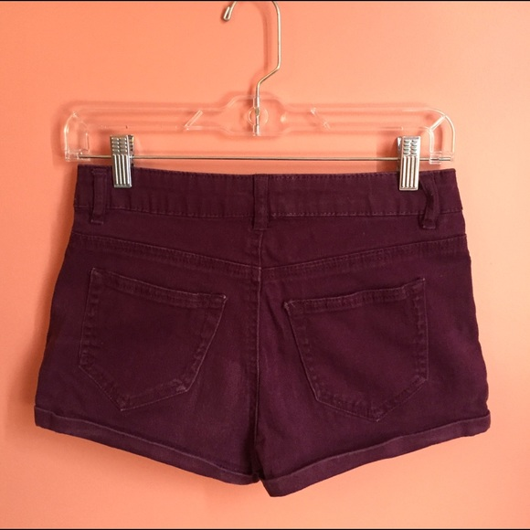 72% off refuge Pants - Burgundy Jean Shorts from Katie's closet on ...