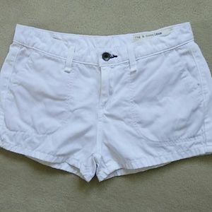 rag & bone / JEAN White Shorts Size 25