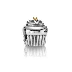 Authentic PANDORA cupcake charm