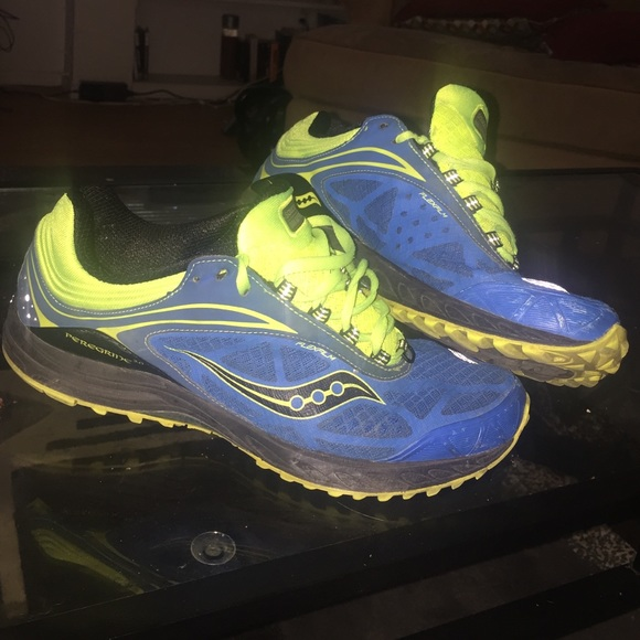 edfccad4 Saucony peregrine 3.0 run anywhere shoes sz 10.5