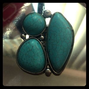 Simulated Turquoise Ring