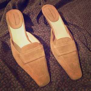 Banana Republic Suede Heels 