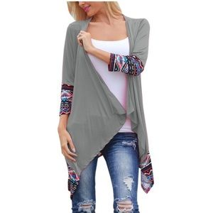 Sweaters - 🆕Winter 3/4 Sleeve Irregular Cardigan