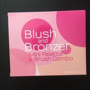 Coastal Scents Makeup - Blush & Bronzer Palette by Coastal Scents