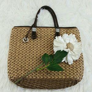 Brighton Handbags - 💞SALE💞 Adorable Brighton Straw Bag