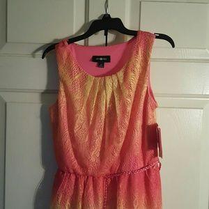 "Dresses - 💥 ""Mark Down"" 💥Fuschia Amy Byer Hi Low Dress"