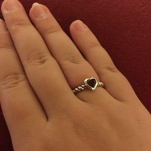 James Avery Jewelry Garnet Twisted Wire Ring Poshmark