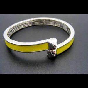 Vince Camuto Jewelry - VinceCamuto Double PyramidYellow Enamel Bracelet