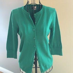 bp Sweaters - Green cardigan/sweater