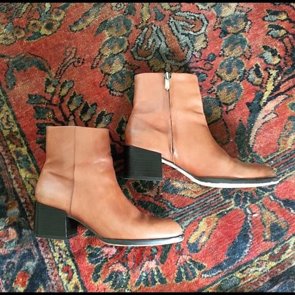 3972a865561b4 Sam Edelman Joey Saddle Heel Boots 6.5. M 57c21a6c13302a89cd021ba1