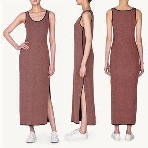 Emily Keller Dresses & Skirts - Reversible Knit Maxi Dress blush & black