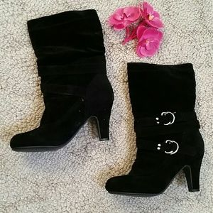 Never Been Worn Heeled Boots
