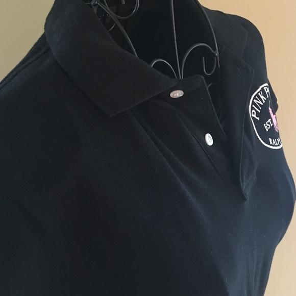 76 off ralph lauren tops ralph lauren black pink pony for Black ralph lauren shirt purple horse