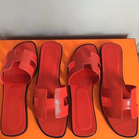 cbf41355417179 Authentic • Hermes Oran Sandals