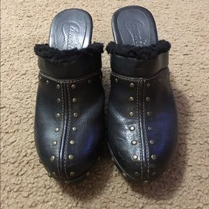 Candie's Shoes - Vintage Candie's Heeled Clogs