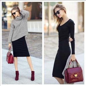 Dresses & Skirts - 🆕Host Pick • Long Sleeve Midi Dress