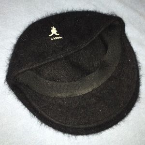 Kangol Other - Kangol Black Winter Hat made with 90% Angora