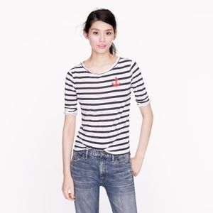 J.Crew Anchor Top Size M