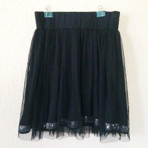 Dresses & Skirts - Black Sequin Tulle tutu Skirt