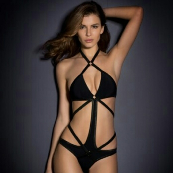 Agent Provocateur Black Shelby swimsuit 5eb069f62