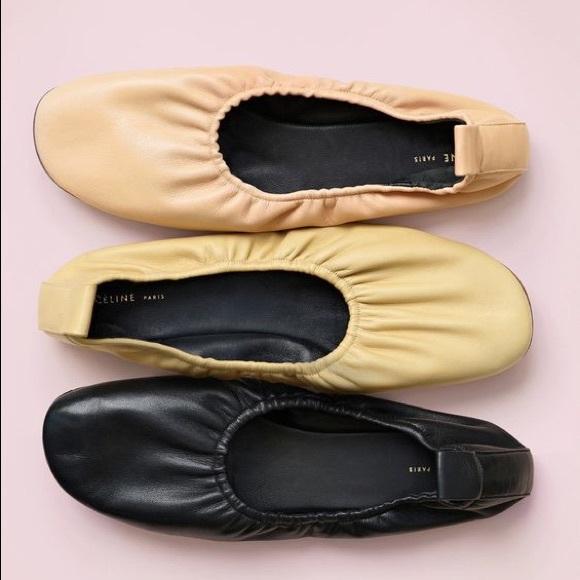 55673d6ac02 Céline Soft Ballerinas