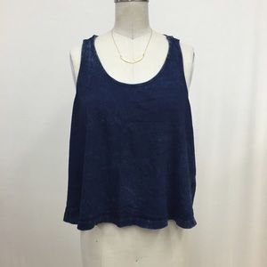 Braided Top in Denim Color